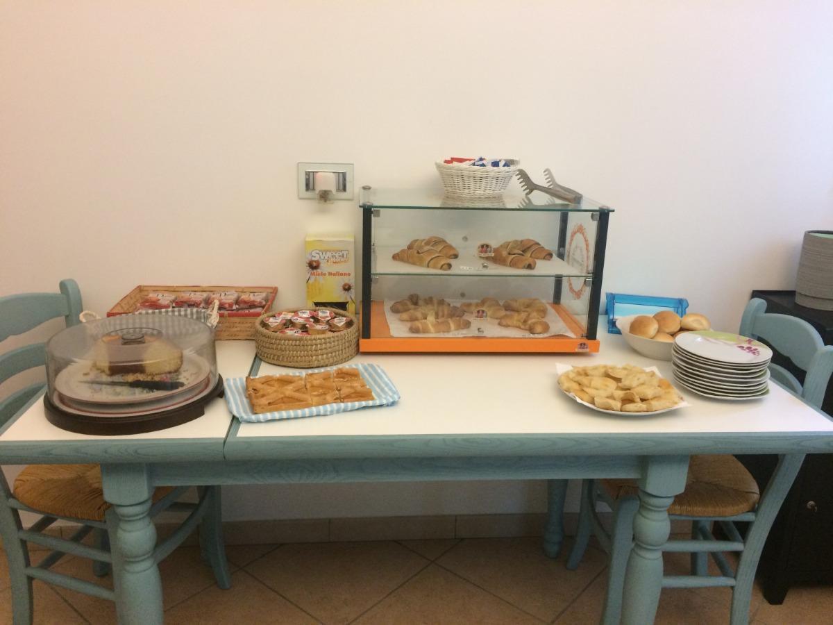 La colazione di ISOLA DEI GABBIANI