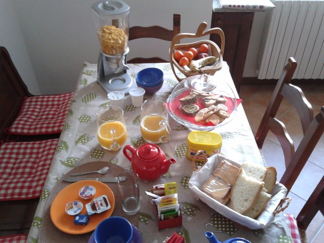 La colazione di LA CASA DI TRIZZI