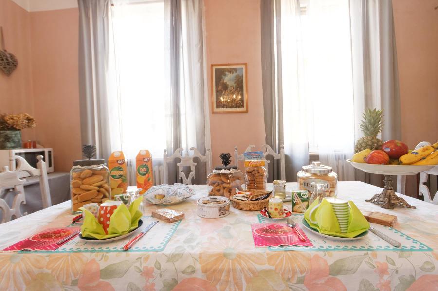 La colazione di B&B CA' DAL BUSC