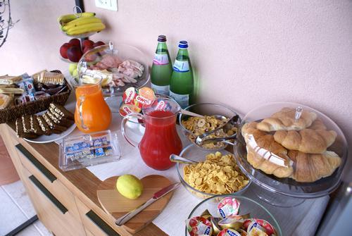 La colazione di B&B ALL'OLIVETO