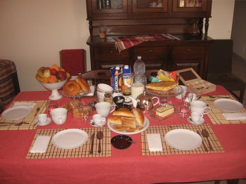 La colazione di LA CASA DI MIRÒ