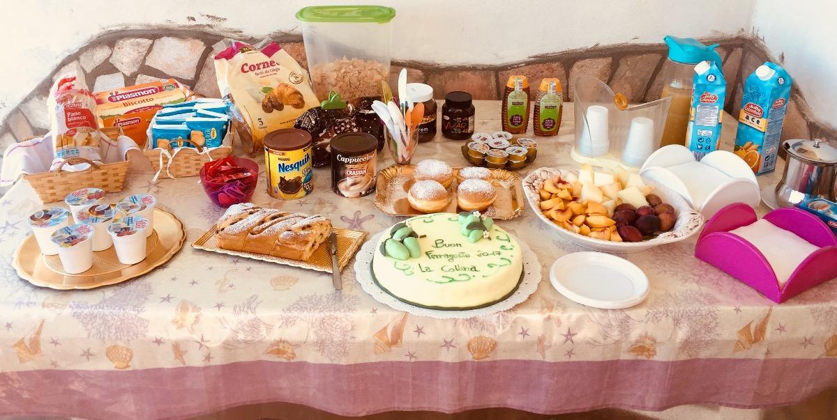 La colazione di LA COLLINA