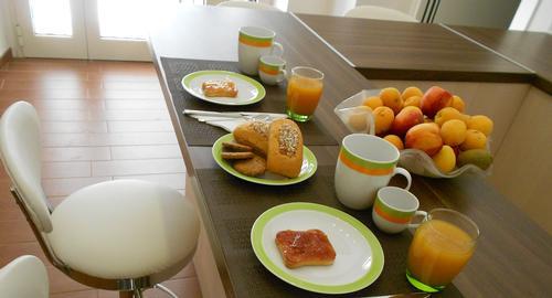 La colazione di B&B FIVE