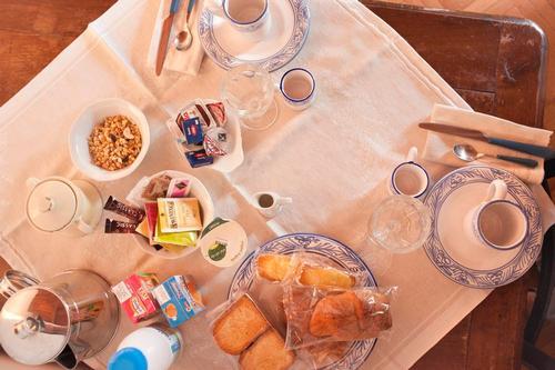 La colazione di DIMORA LA PETRAIA