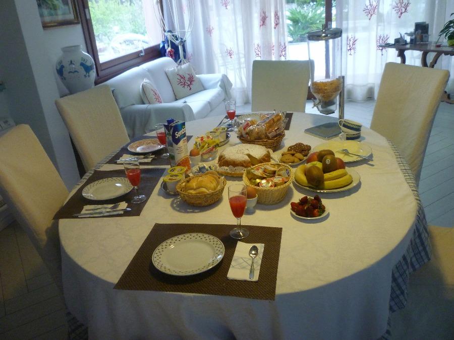 La colazione di B&B KALÒS