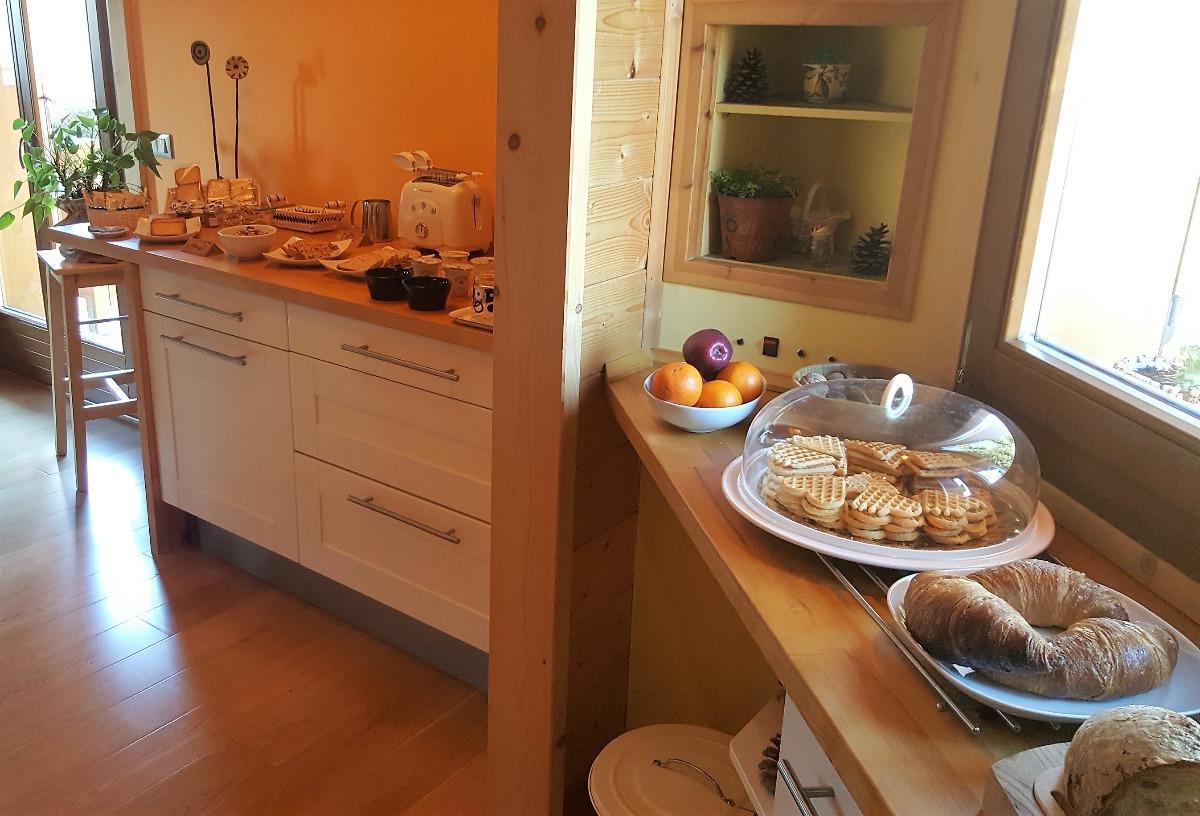 La colazione di LO CHALET DI OCRE