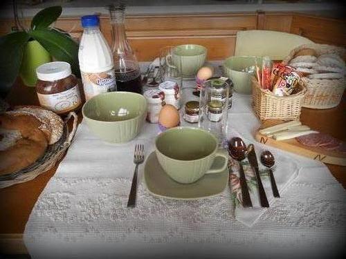 La colazione di B&B RAGGIO DI SOLE