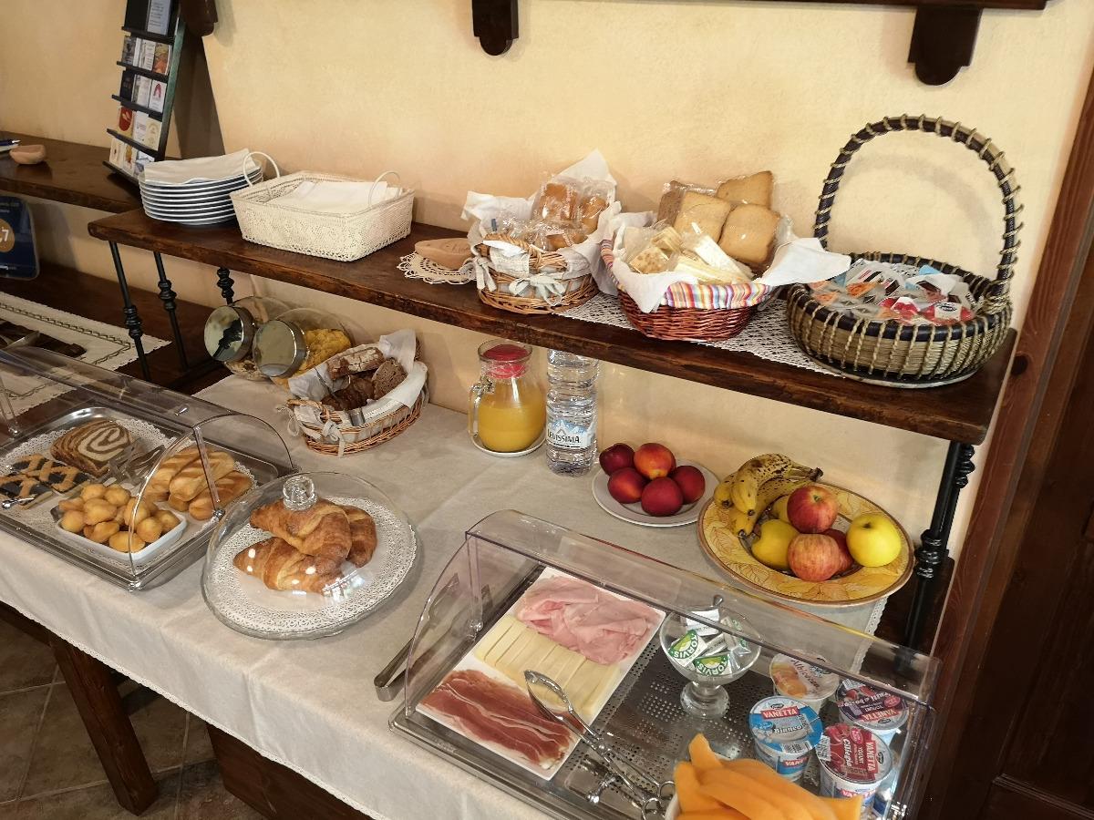 La colazione di AL PIC DE CORONE