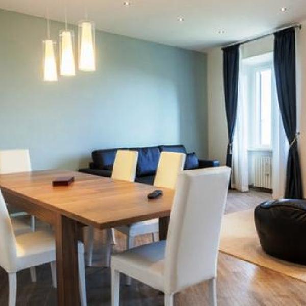 appartamento con vista su assisi