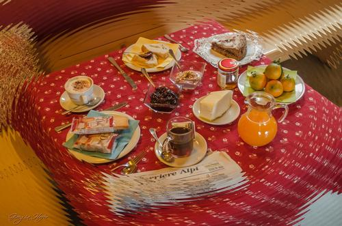 La colazione di BAITA DEONA