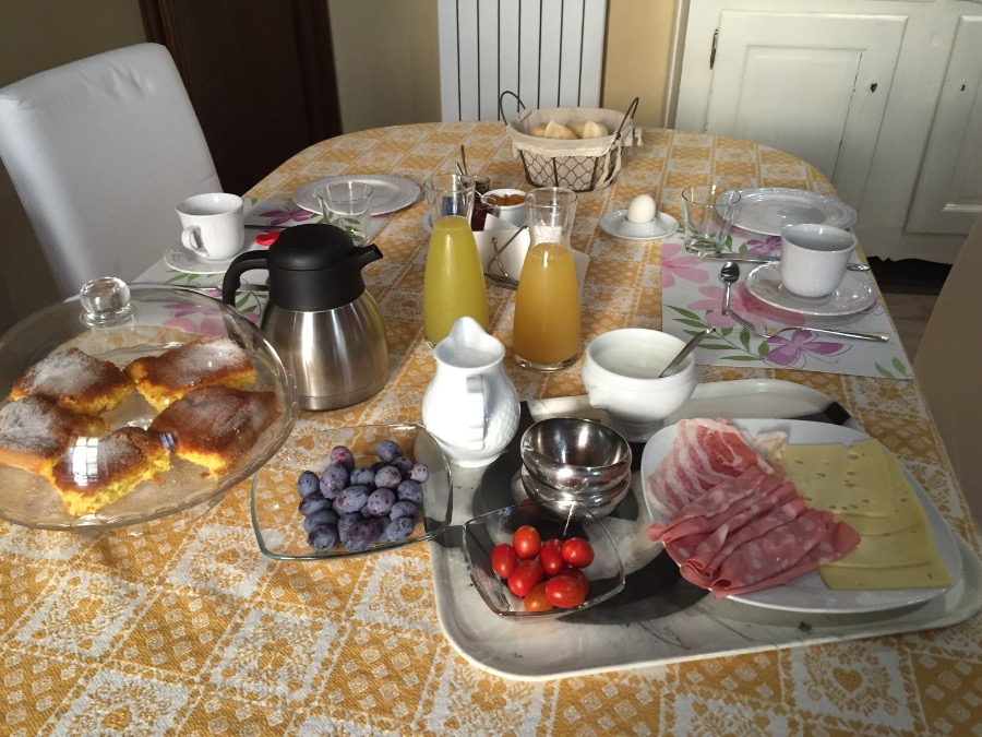 La colazione di DOMUS AUREA