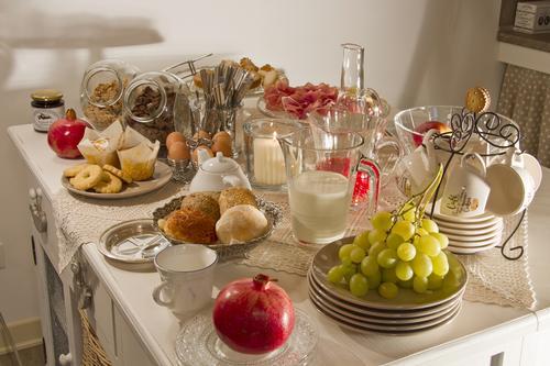 La colazione di B&B CORSO MATTEOTTI 62