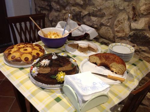 La colazione di B&B AL VICOLO DEL CILENTO