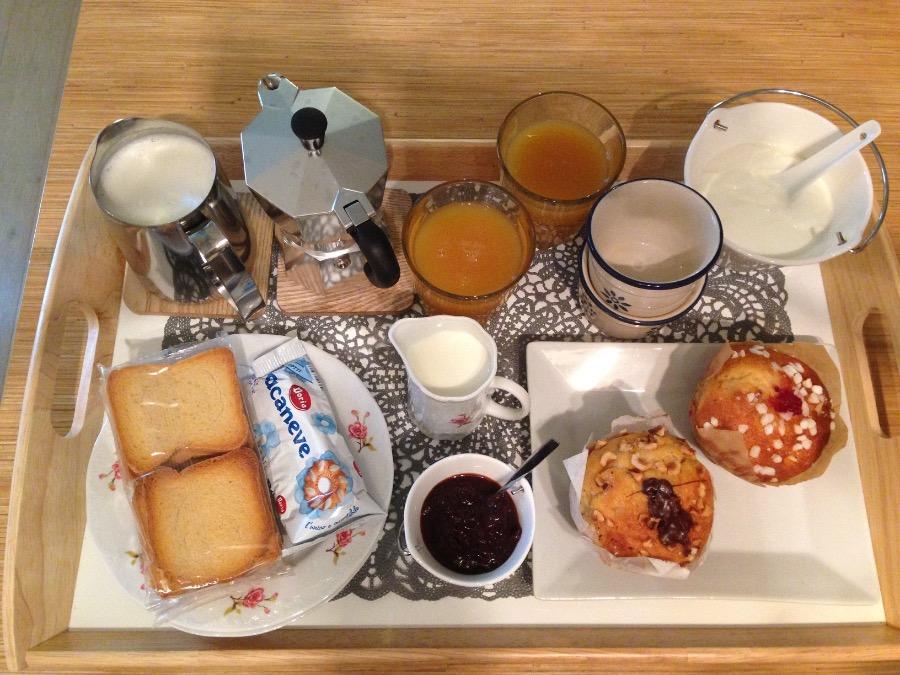 La colazione di B&B L'ULMA E L'OPI