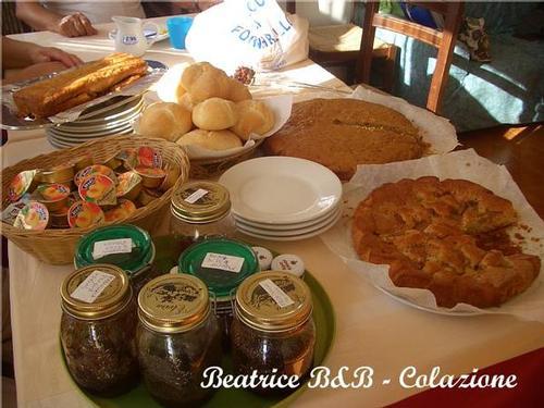 La colazione di RESIDENZA BEATRICE