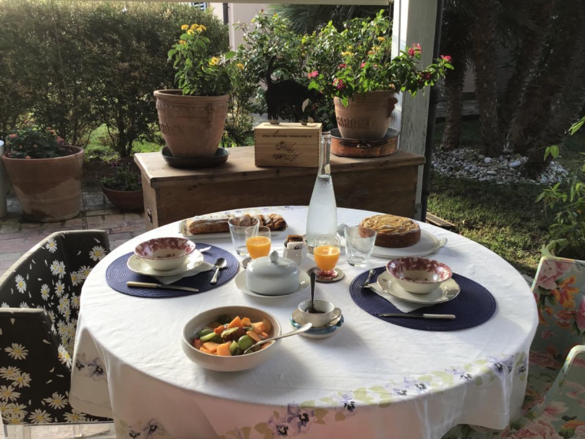 La colazione di B&B VILLA FIORECONERO