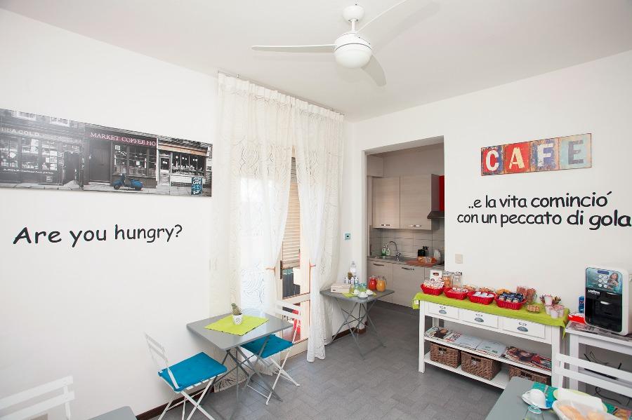 La colazione di B&B CENTO PASSI DALLE MURA
