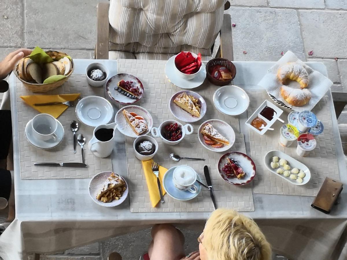 La colazione di SEGUENDO L'OCA