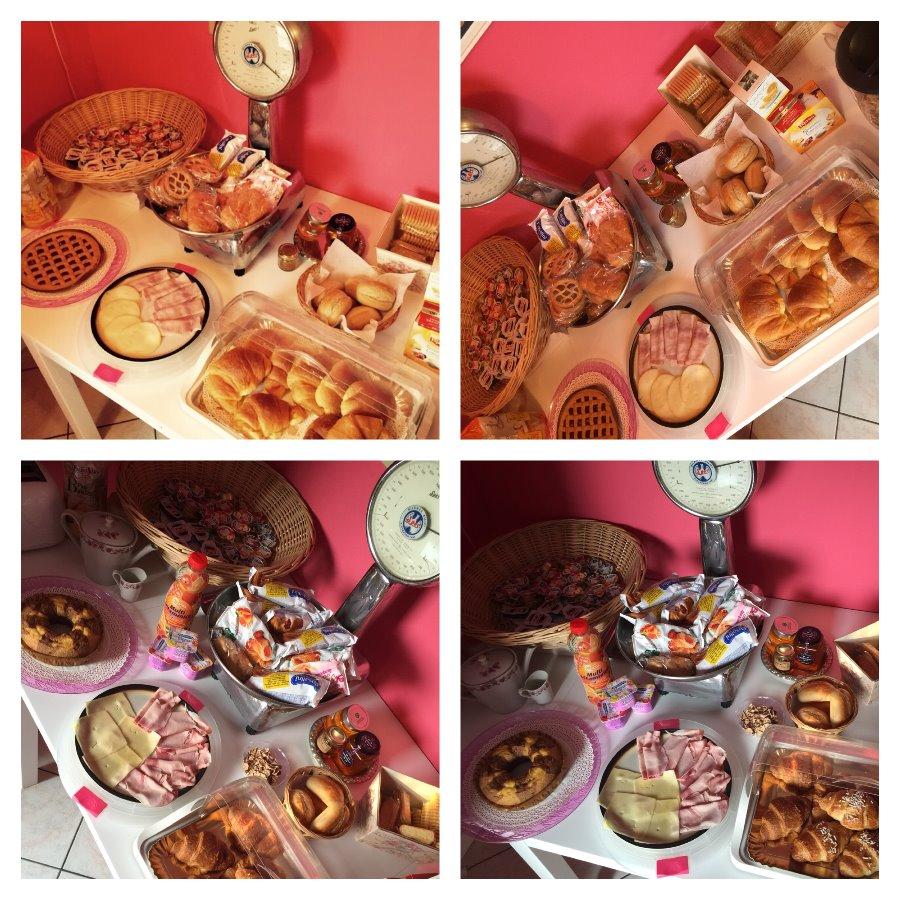 La colazione di GUEST HOUSE BY ROSE