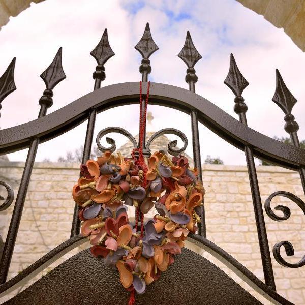 un cuore di trullo