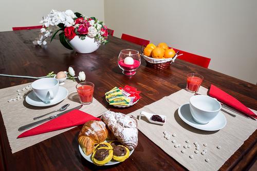 La colazione di B&B LA GIOSTRA