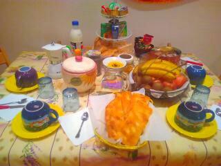La colazione di LA SOSTA DELLA VIANDANTE