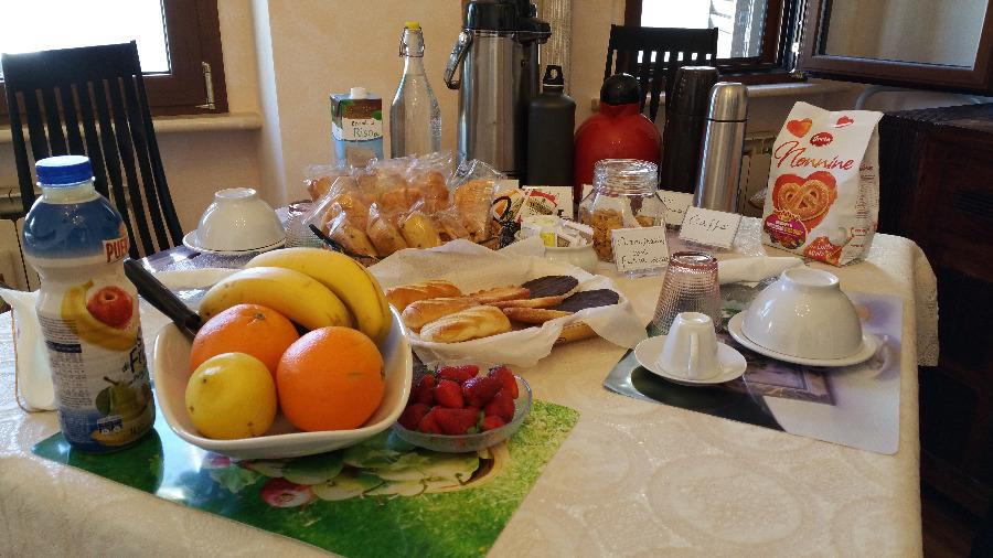 La colazione di LA CASA DEL SI
