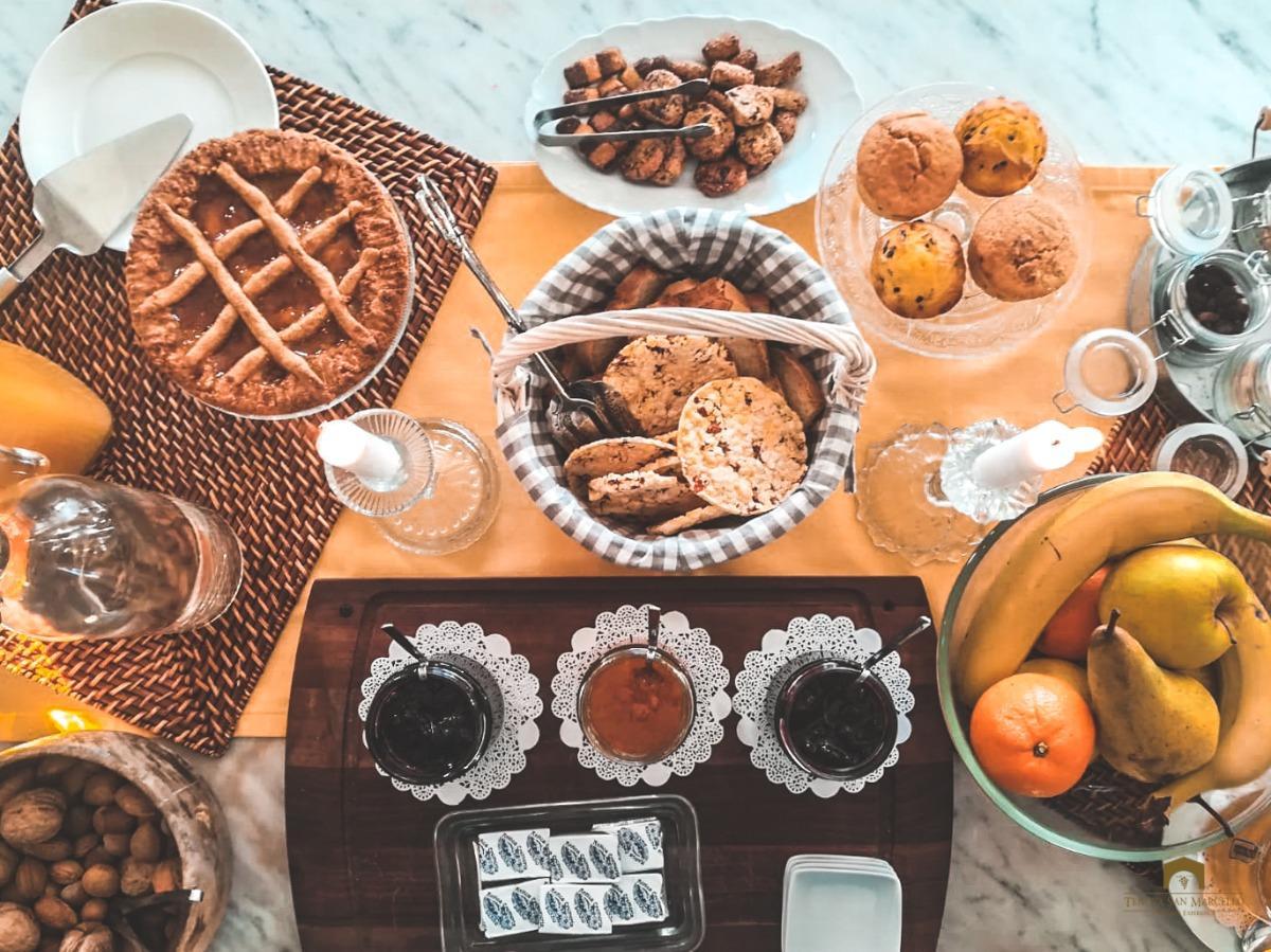 La colazione di TENUTA SAN MARCELLO