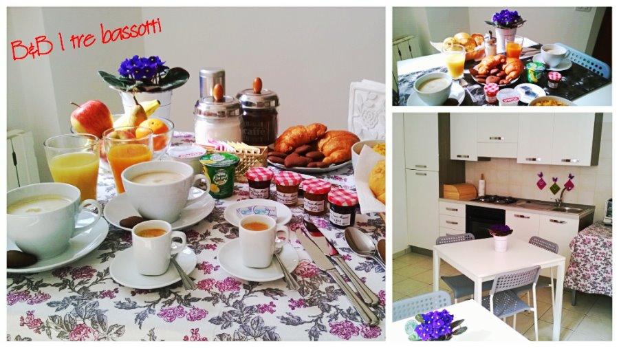 La colazione di I TRE BASSOTTI