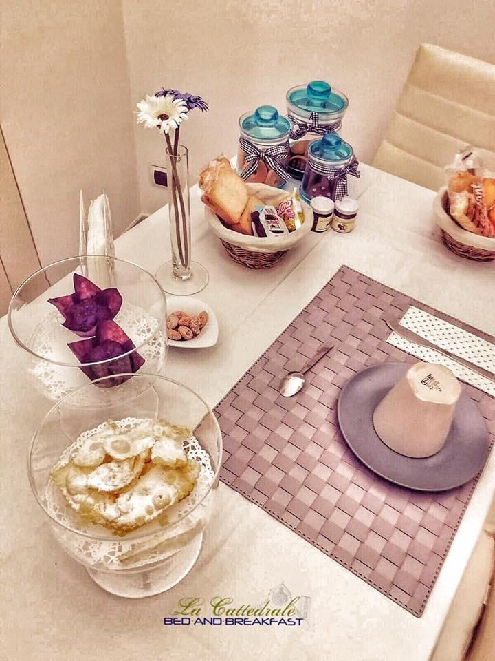 La colazione di B&B LA CATTEDRALE