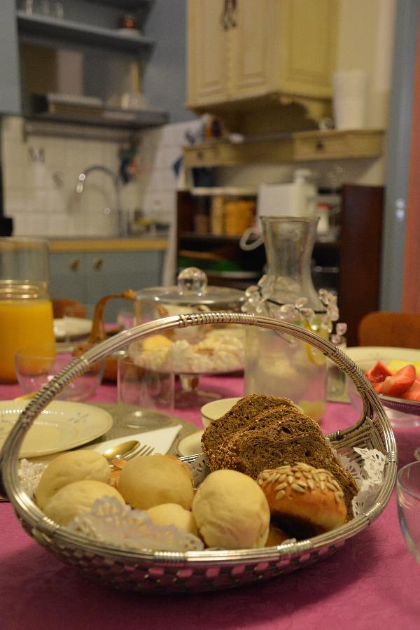 La colazione di CA' MONTEGGIA