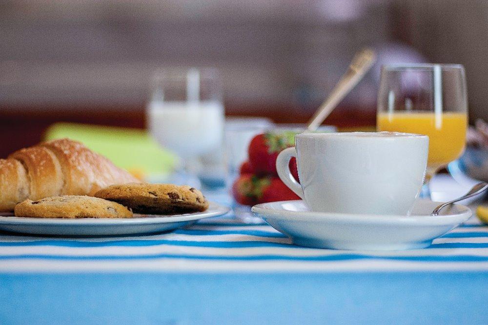 La colazione di B&B LA CASA DI RINALDO