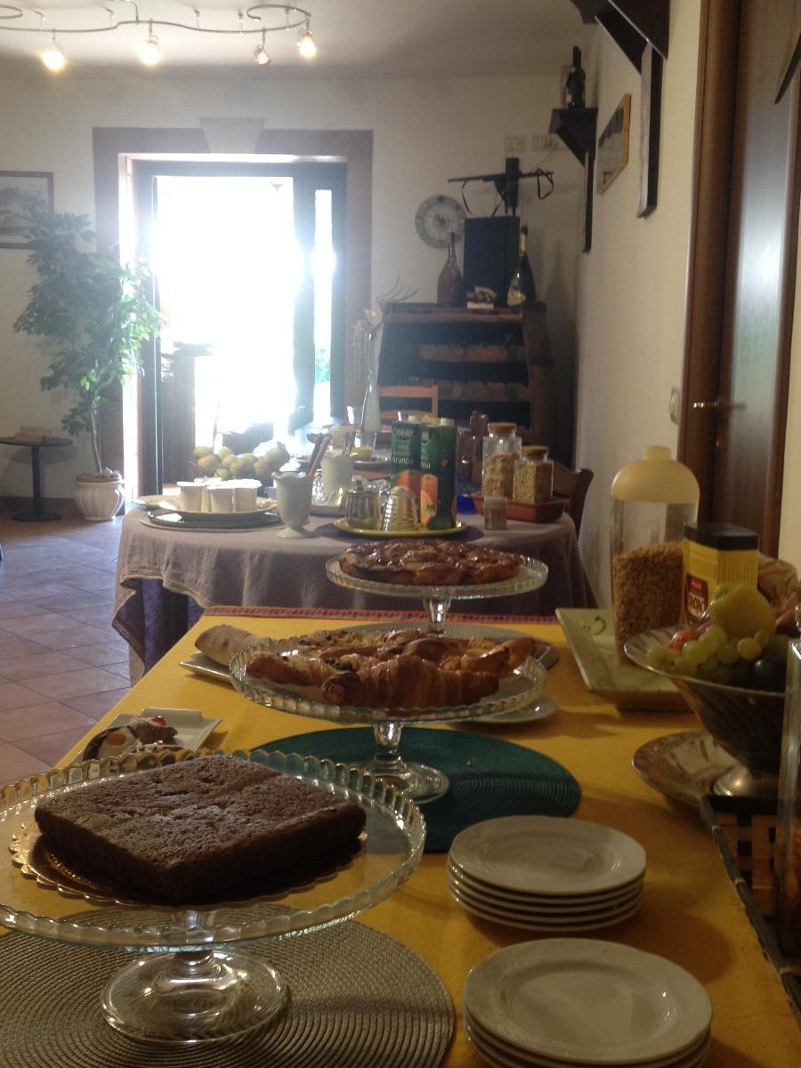 La colazione di LA CULLA DEI CASTELLI ROMANI