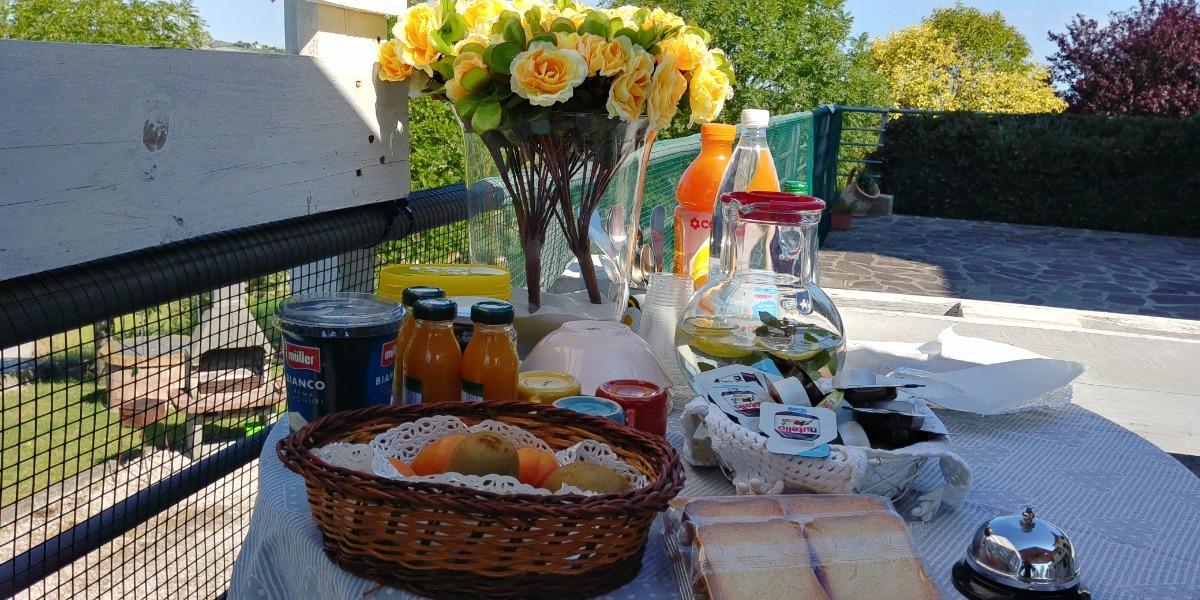 La colazione di B&B CASA ALYSA