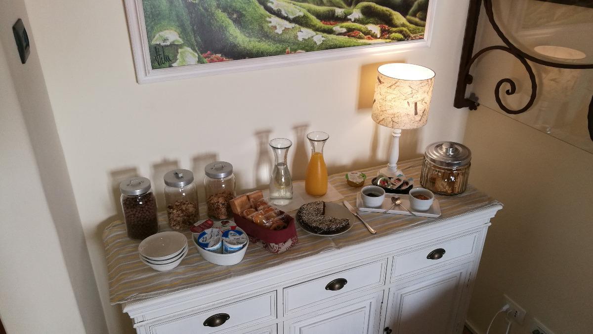La colazione di PODERE PONTEPIETRA