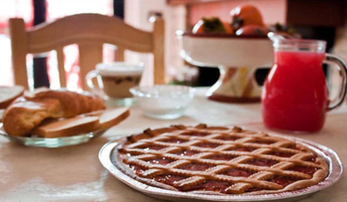 La colazione di B&B VILLA FLORA