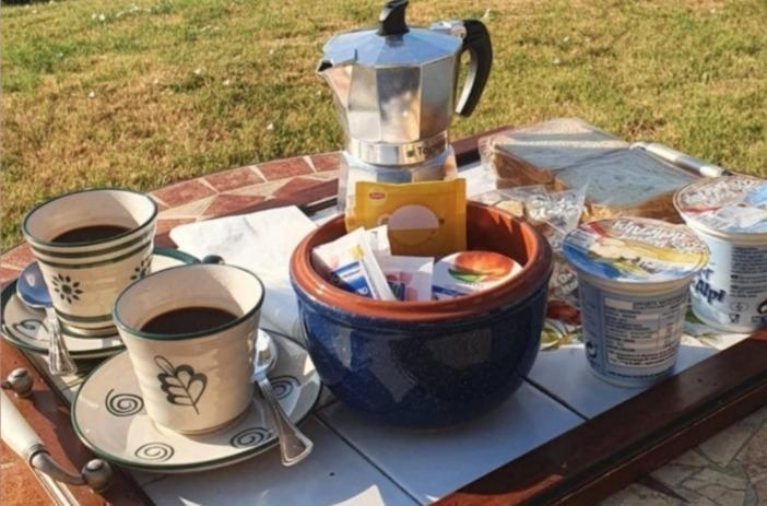 La colazione di AGRITURISMO PODERE PIETRETA