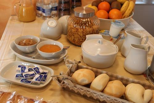La colazione di B&B ACERO ROSSO