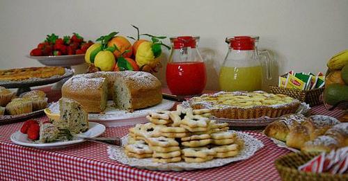 La colazione di LA FILANDA