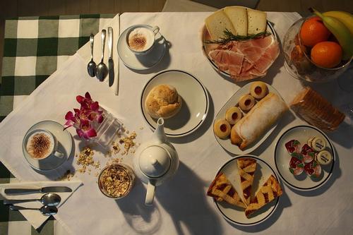 La colazione di B&B BENVENUTI