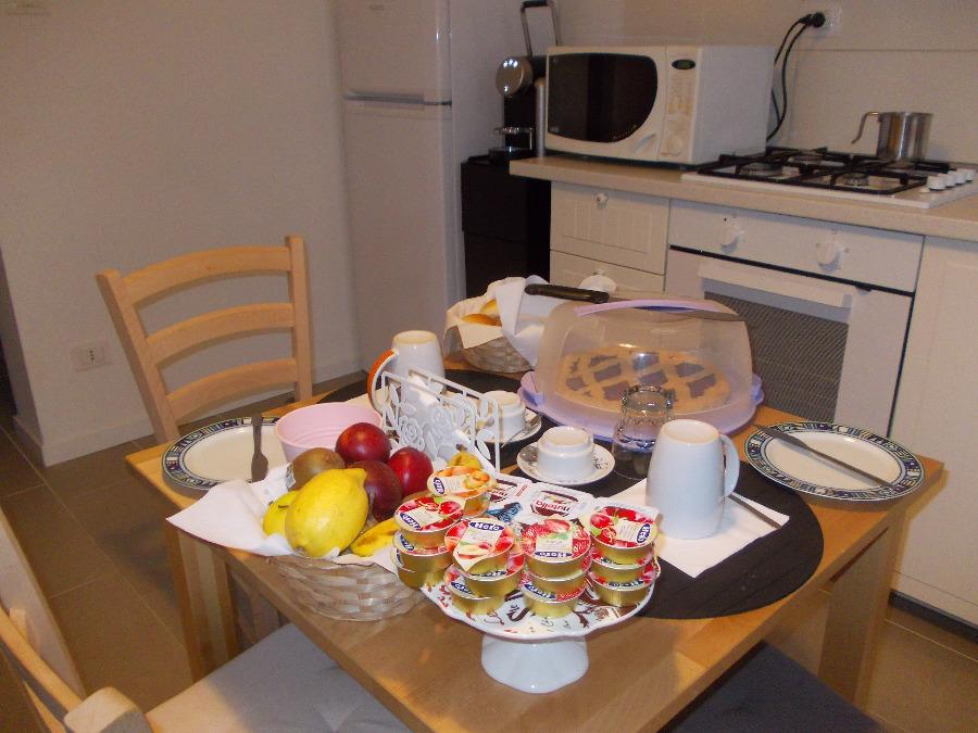 La colazione di LA SCALA DI SETA