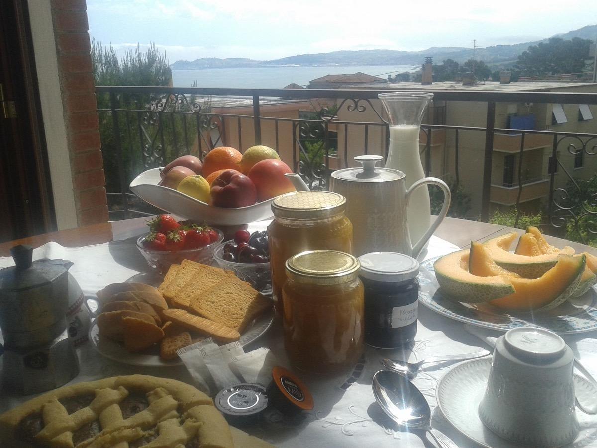 La colazione di VILLA ANY
