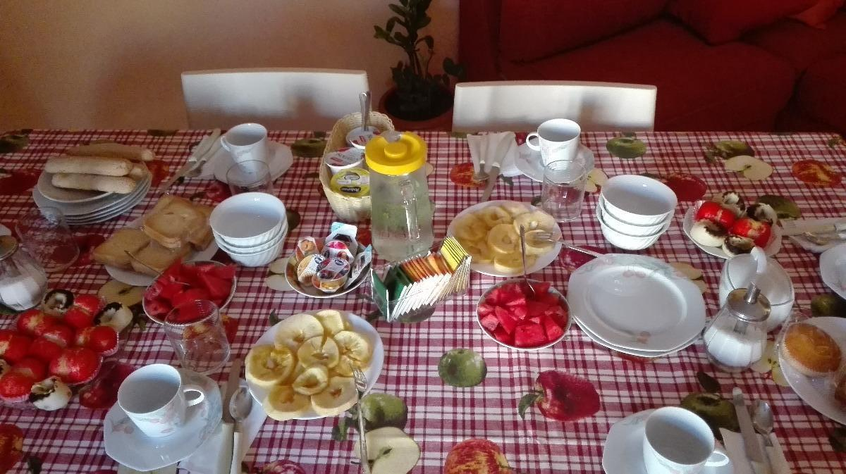 La colazione di B&B CASA MIA