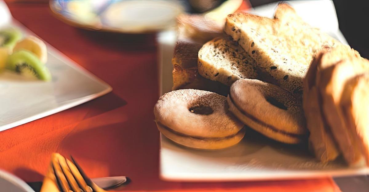La colazione di LA CASA DI ADELINA