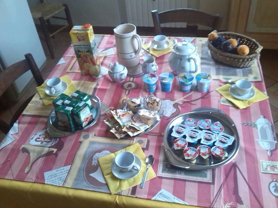 La colazione di CASA DI GIULY B&B