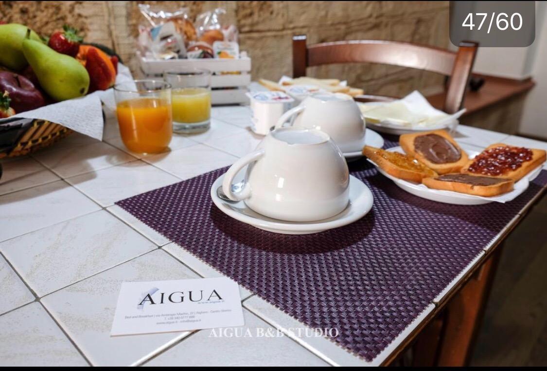 La colazione di AIGUA B&B
