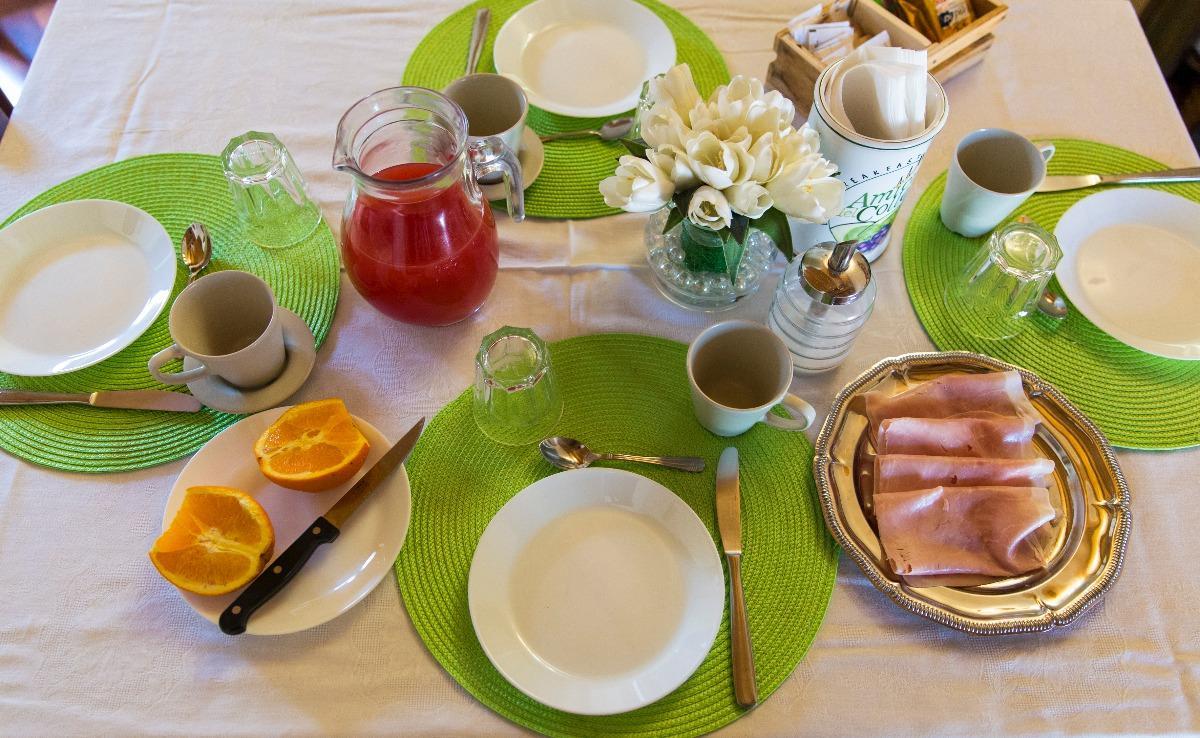 La colazione di B&B AMICI DEL COLLE