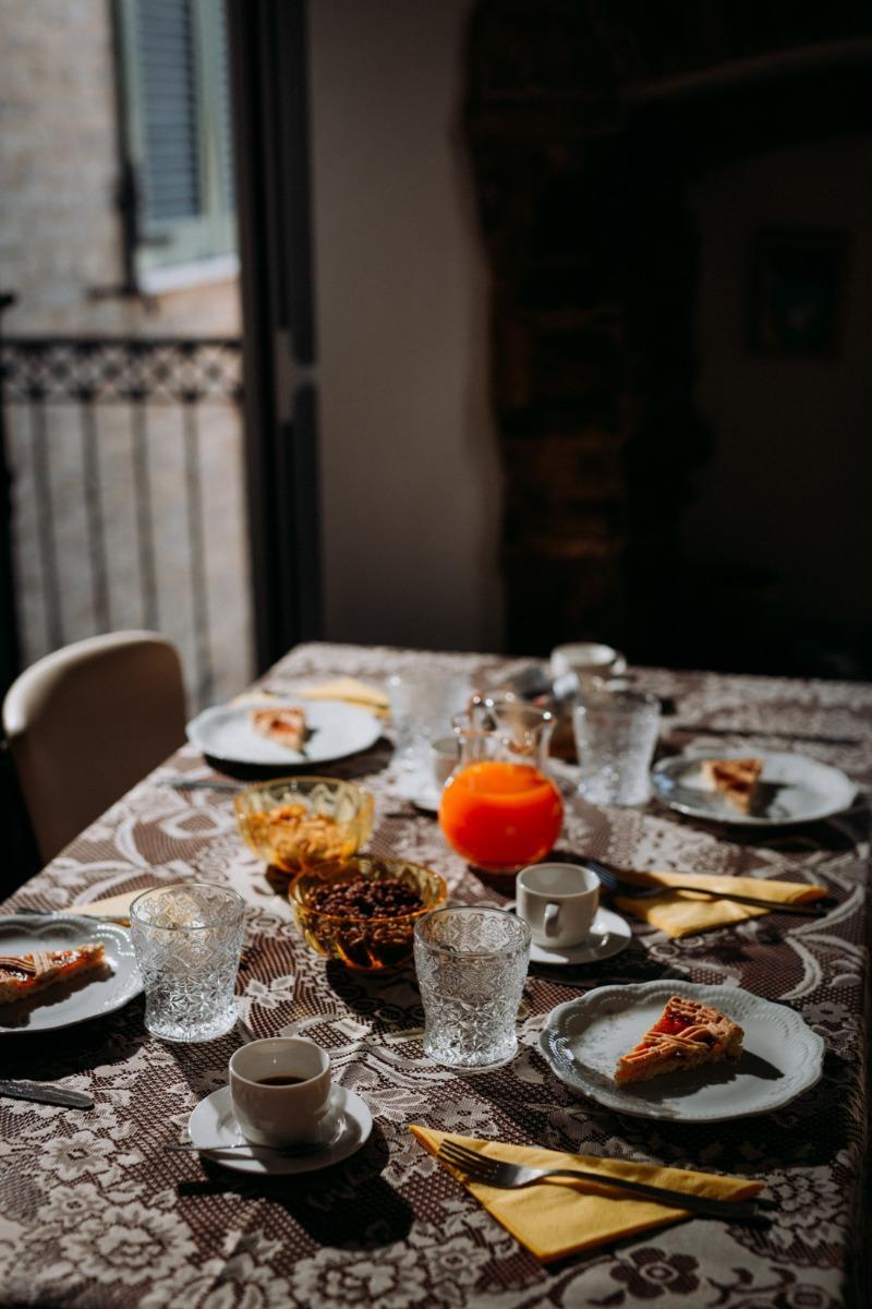 La colazione di B&B NOVECENTO