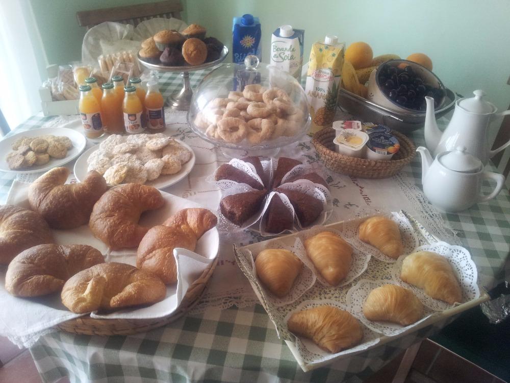 La colazione di B&B IL FOSSO DEL GALLO