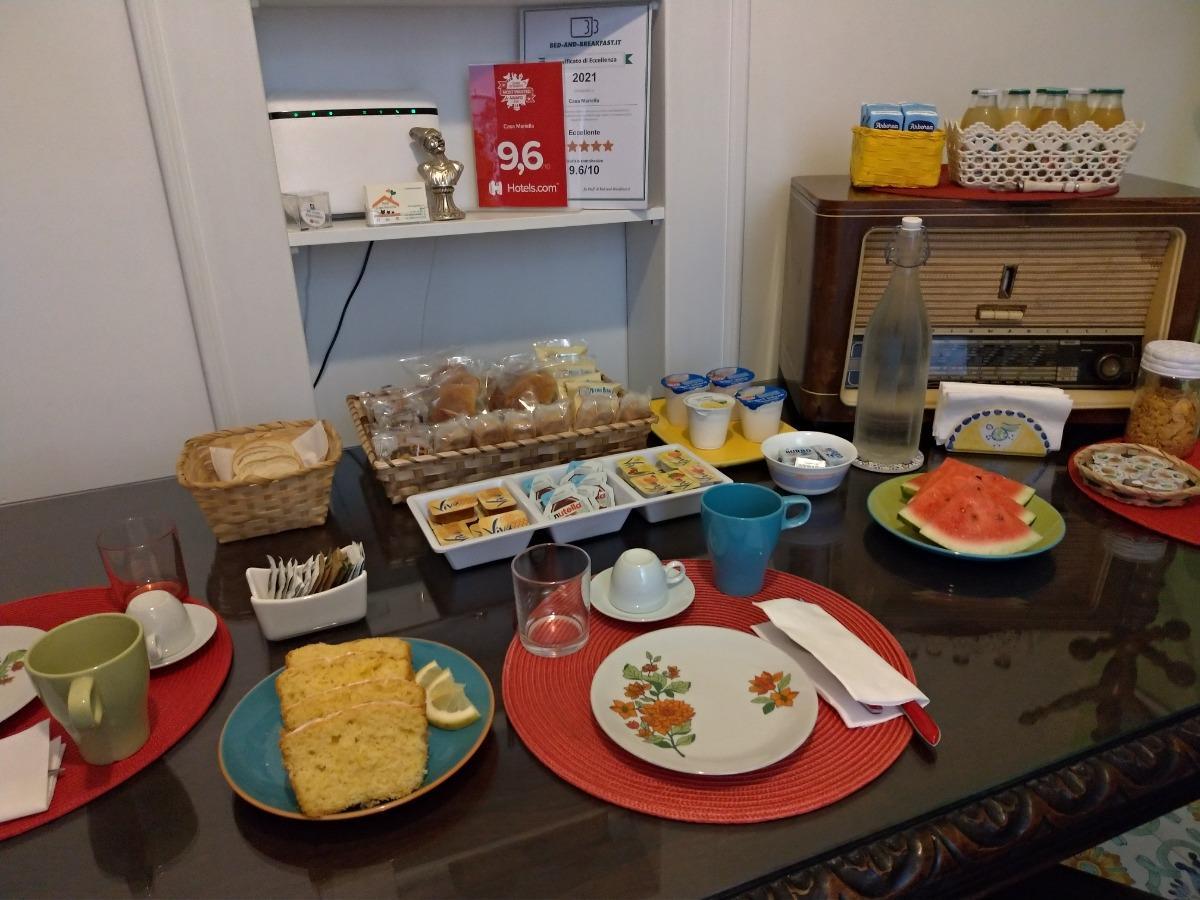La colazione di CASA MARIELLA